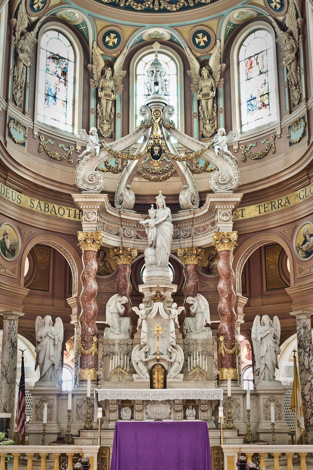 Inside The Church Our Lady Of Victory National Shrine
